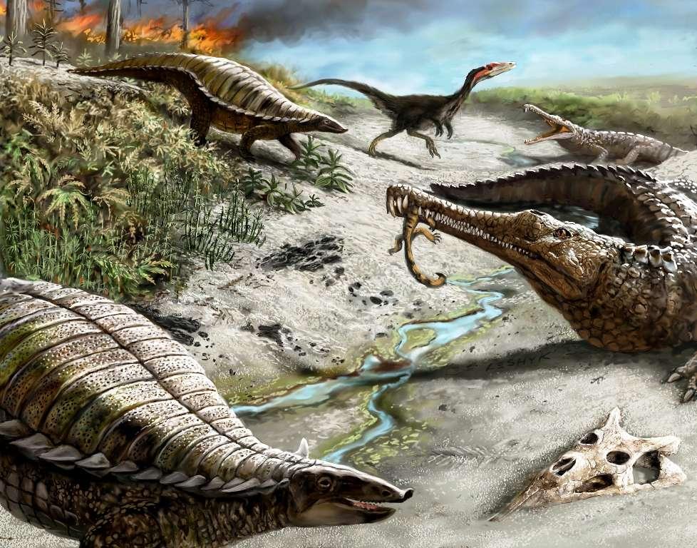 Carnivores Triasique